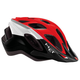 MET Funandgo - Casco de bicicleta - rojo/negro